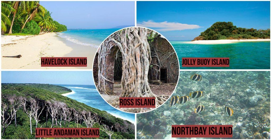 Andaman & Nicobar places.