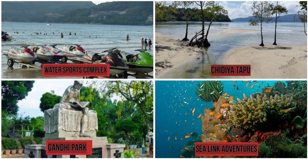 Andaman & Nicobar places