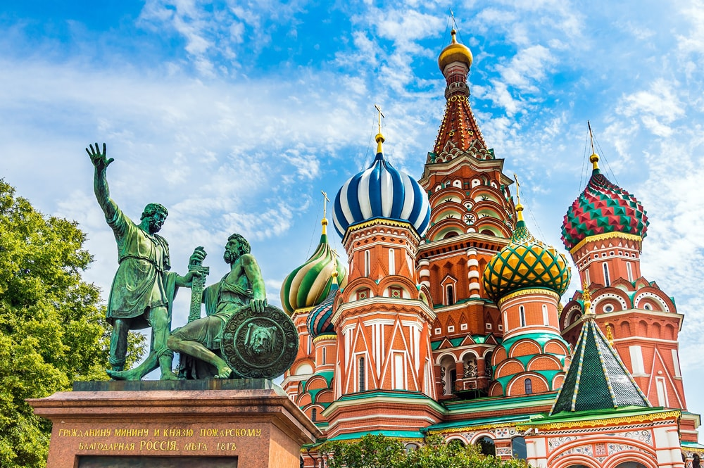 Saint Basil Cathedral Russia
