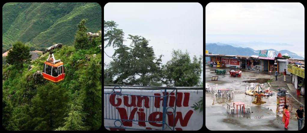Gun hill Mussoorie
