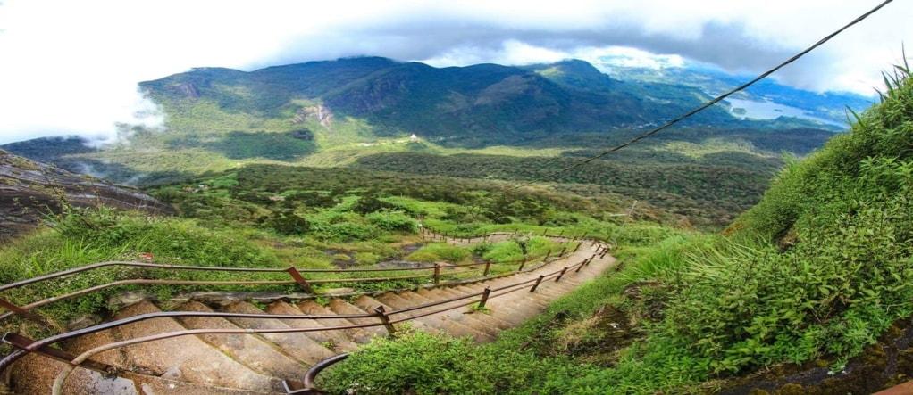 Adam's hike Sri Lanka