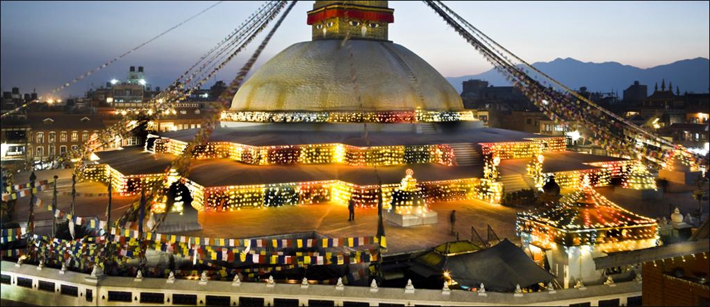 Bodhnath city