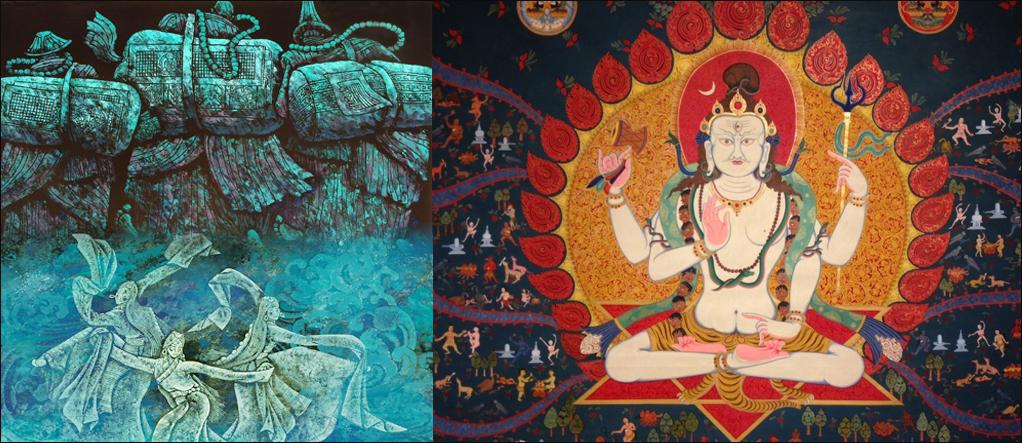 Thangka paintings