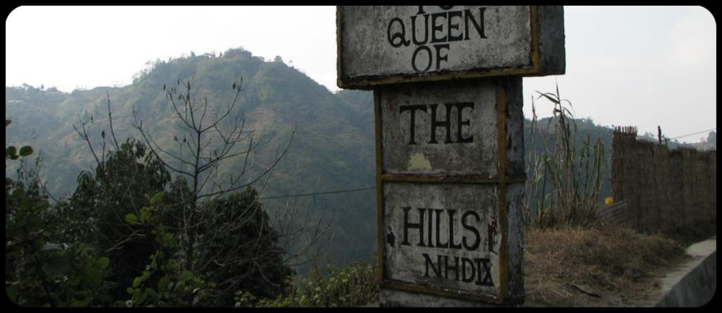 Queen of the hills Mussoorie
