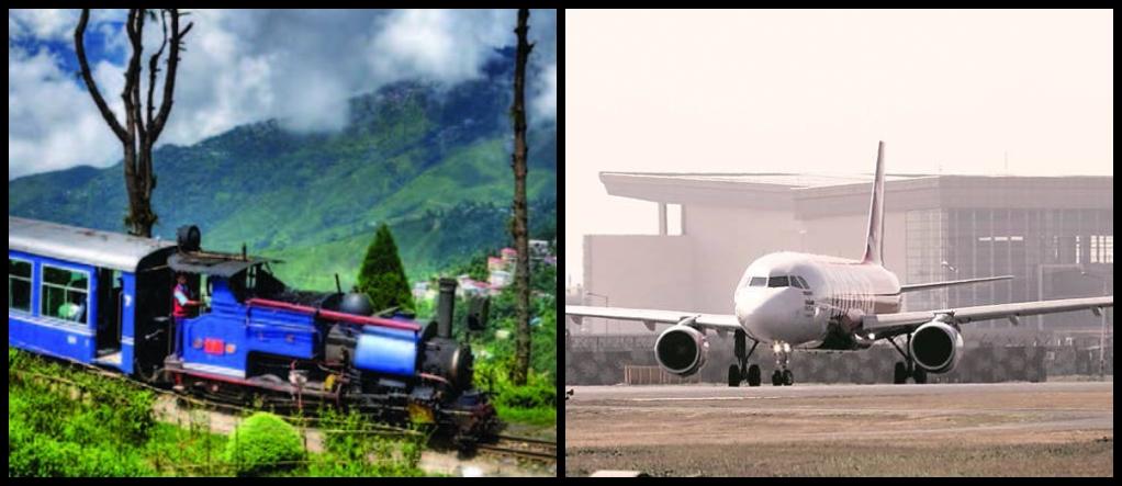 How to reach Gangtok