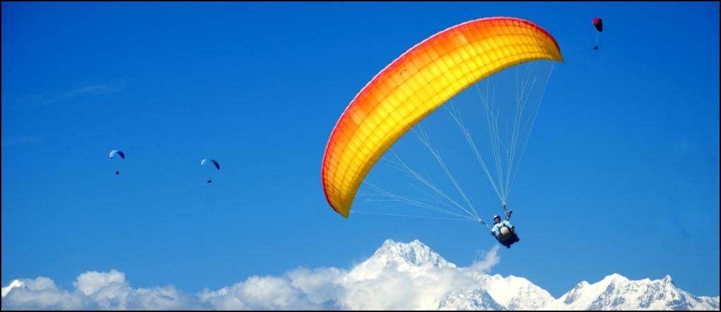 Paraglide Gangtok