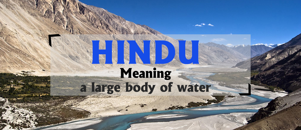 Hindu from Indus