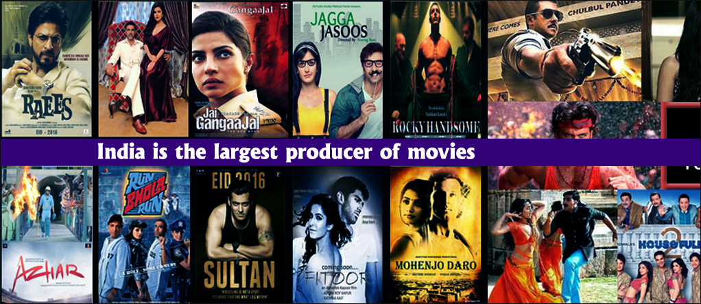 largest movie produces