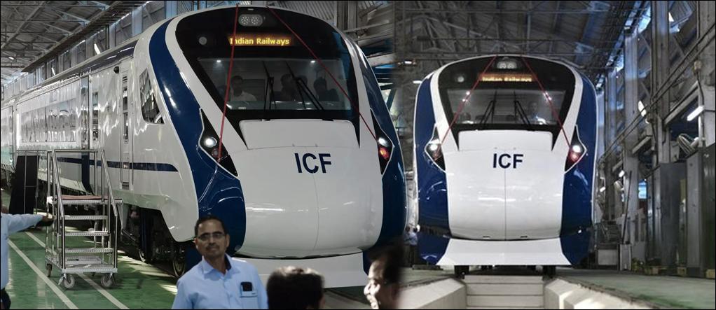 Looks of Engineless Train T18