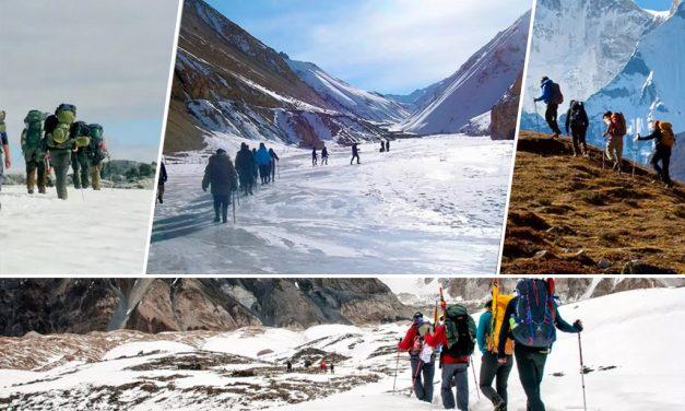 Best Winter Treks in India for Snowbirds  Trekking in Himalayas