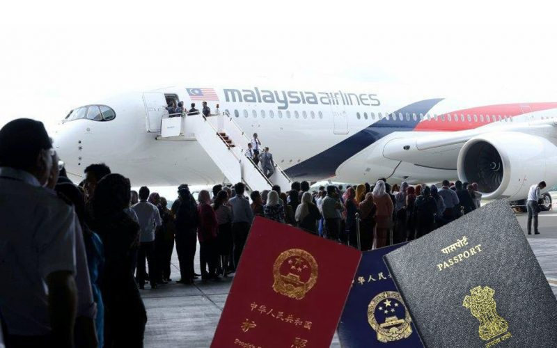 Indian Passport Holders Gets Visa-Free Entry to Malaysia For 2020