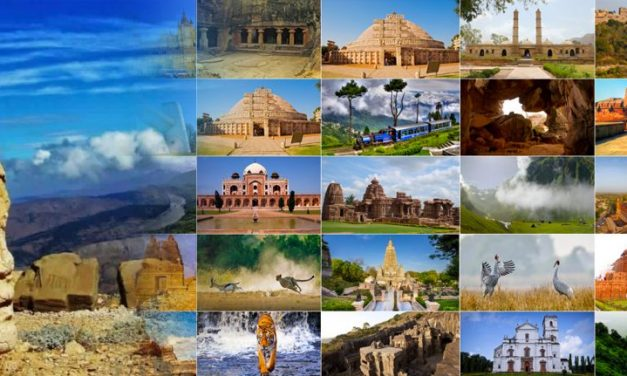 An Encyclopedic List Of Historical Landmarks In India: UNESCO World Heritage Sites